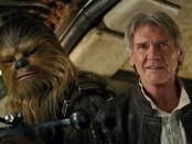 Han Solo y Chewbacca 32 años después